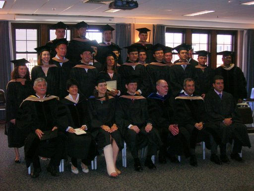 The MBAs of CIMBA 2008
