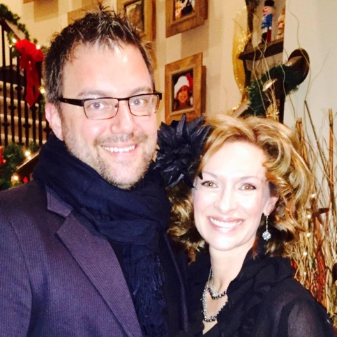 Mauro Schiavon and his wife Shannon.