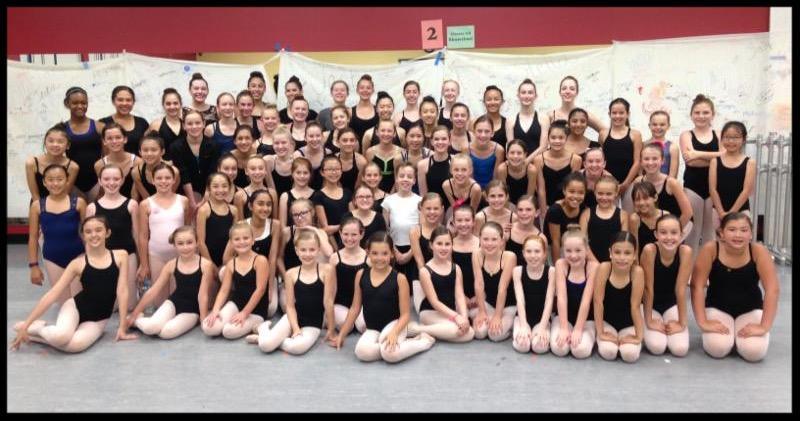 Ballet Practice June 2016