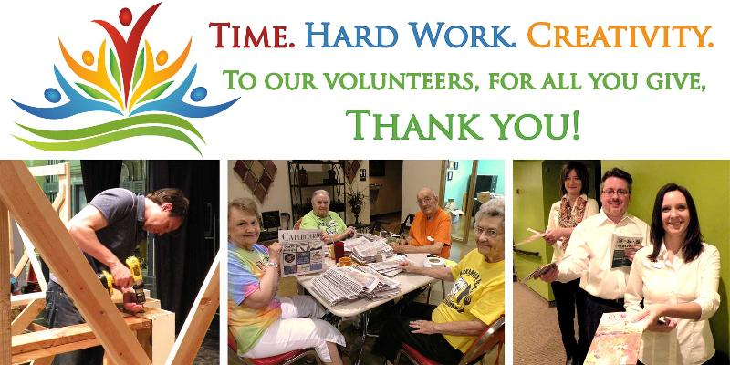 To our Volunteers- Thank you!