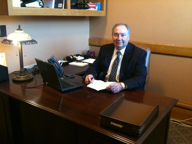 Jim in Senate Office