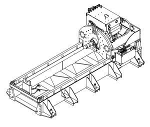Akkerman 4815A GBM Jacking Frame for 8-ft  + Pipe Lengths
