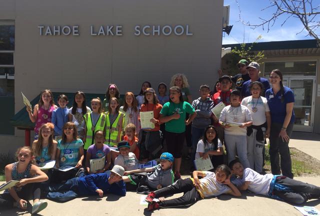 Tahoe Lake School students