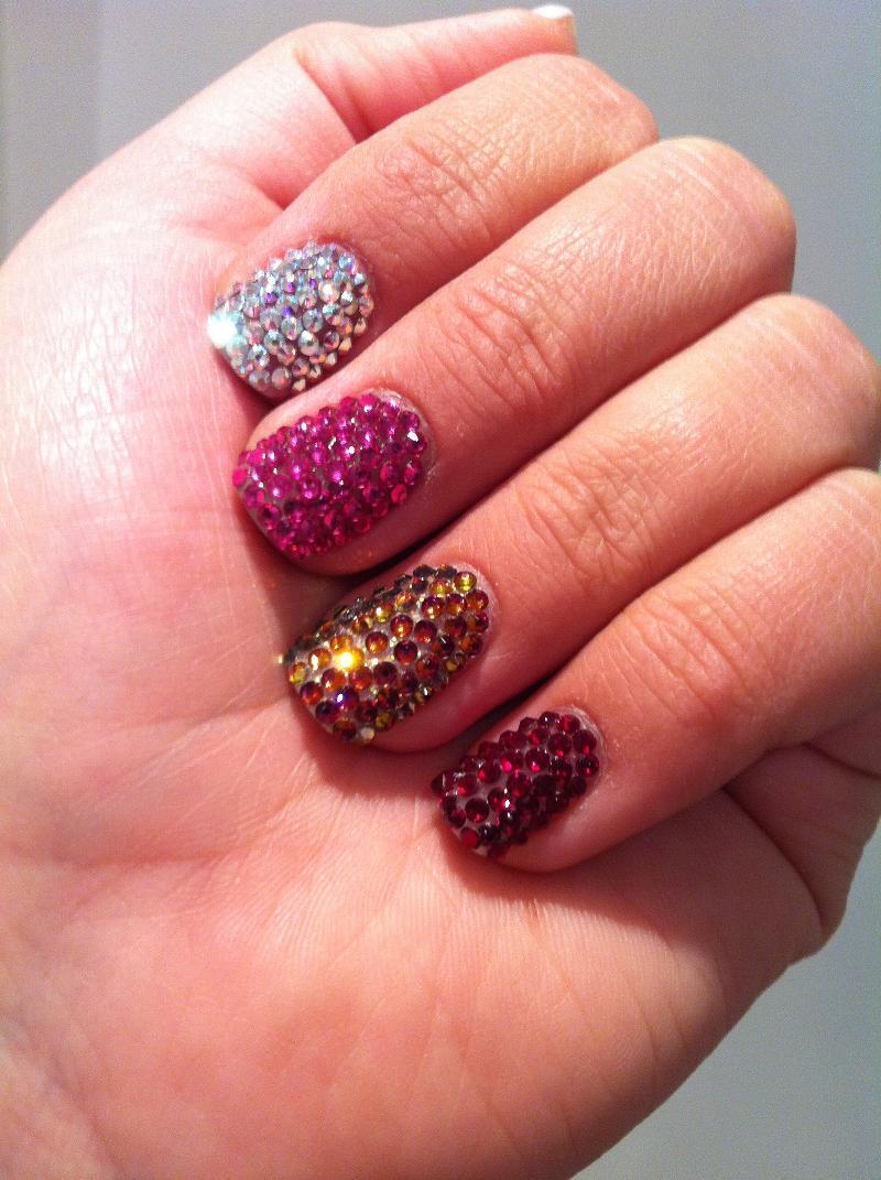 Swarovski Crystal Nails