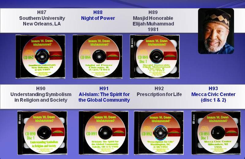 New Titles By Imam W. Deen Mohammed:  H87 - H93