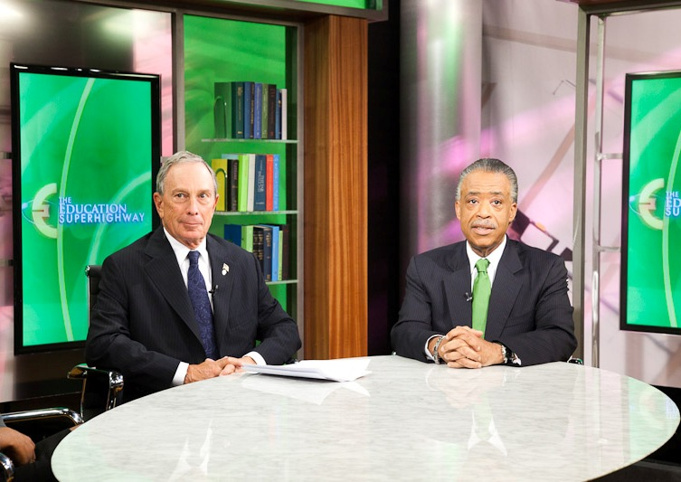 Rev. Al Sharpton and Michael Bloomberg