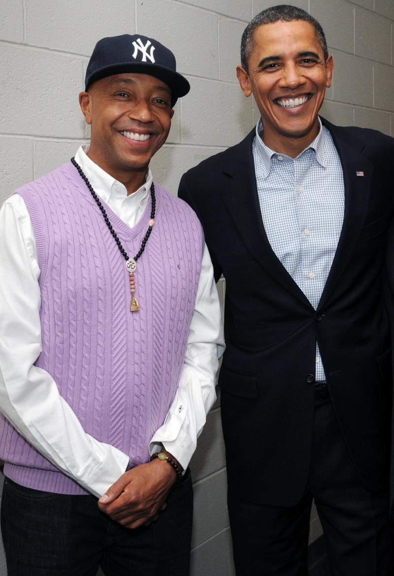 Russell Simmons and President Obama
