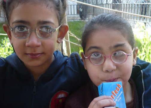 Irbid sight impaired girls