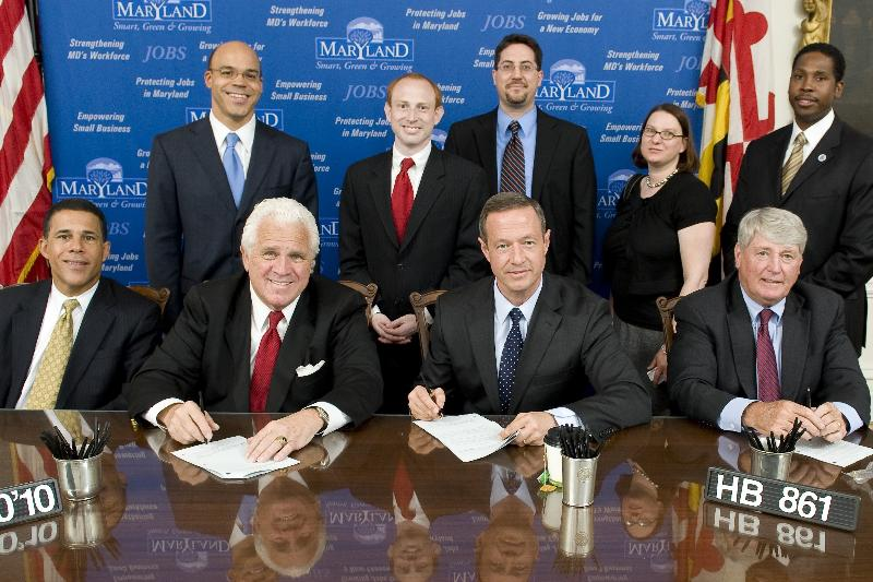 Governor O'Malley signs HB861 into law