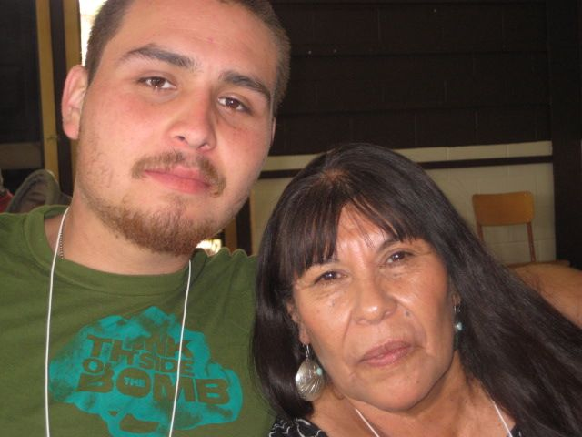 Marian & grandson, Chris