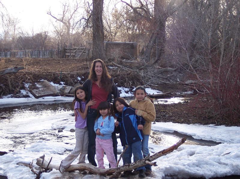 Carol & kids