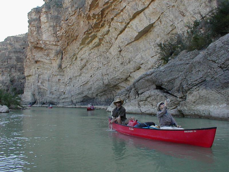 Canoe, lower rio