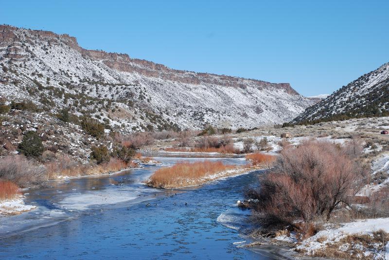 Winter Gorge, 2500