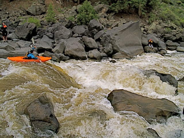 rio rapids w/kayaks  paul bauer