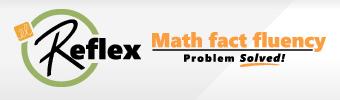 Logo for Reflex math fact fluency