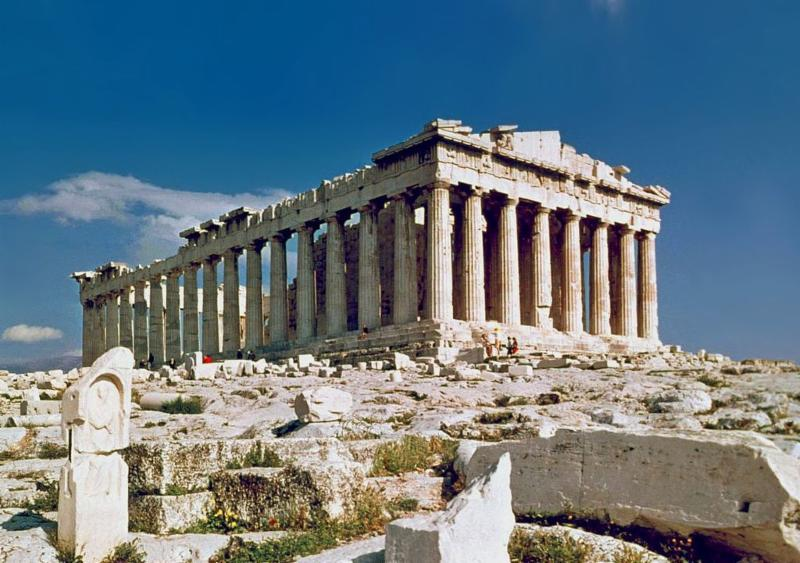 picture of the Parthenon