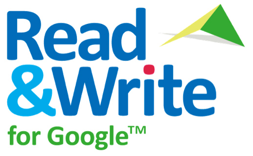 read and write google logo