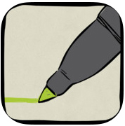 videoscribe logo showing a pen writing