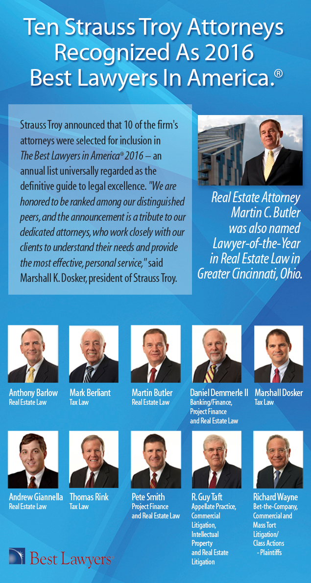 10 Best lawyers 2016