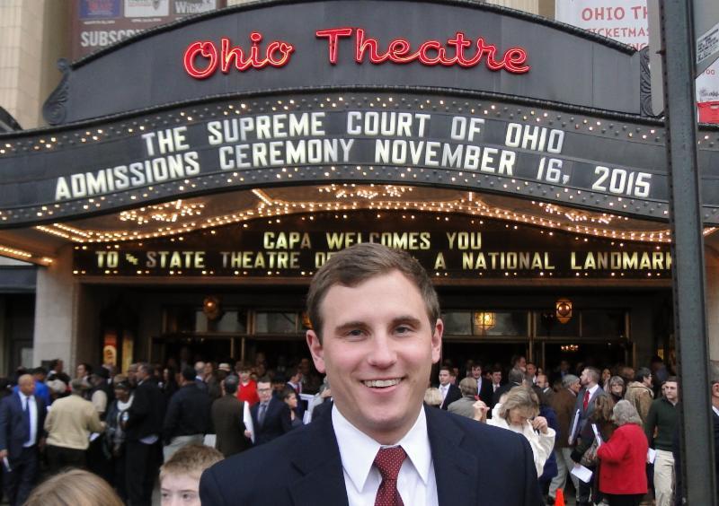New Attorney Chris Groeschen Sworn In By Ohio Supreme Court