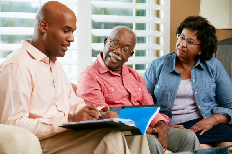 Estate Planning - African American family