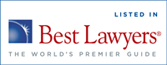 Listed in Best Lawyers logo