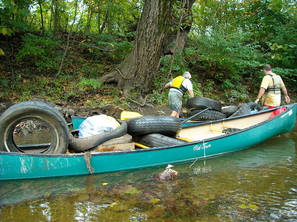 River Clean Up Pics 2009