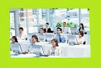 Classroom light green border