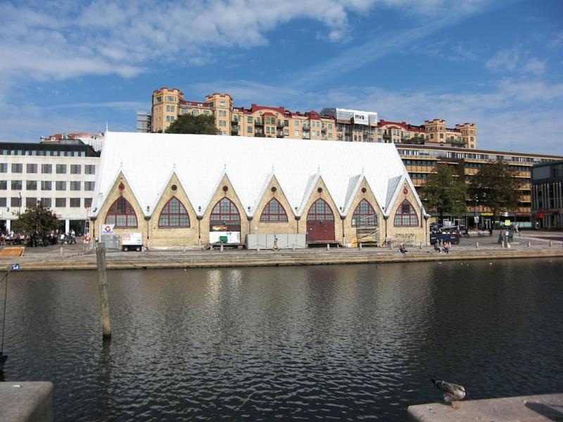 Fish Hall in Gothenburg.