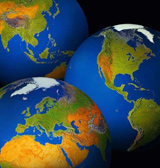 3kontinenter