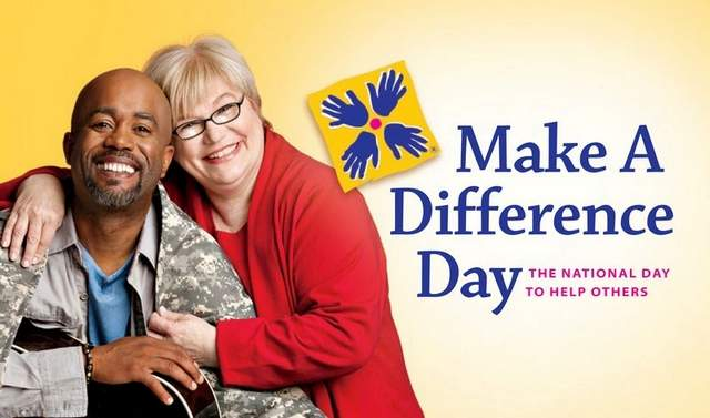 make a difference day october