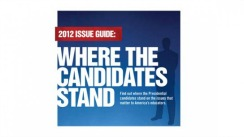 where candidates stand 2012
