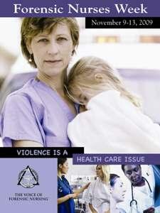 IAFN Forensic Nurse's Day