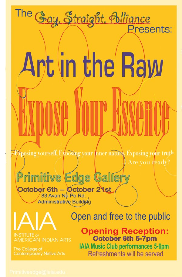 Art in Raw poster