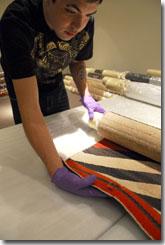 IAIA Work-Study Dylan Iron Shirt wraps textiles