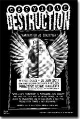 Creative Destruction exhibition poster