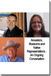 Suzan Shown Harjo, Dr. N. Scott Momaday and W. Richard West