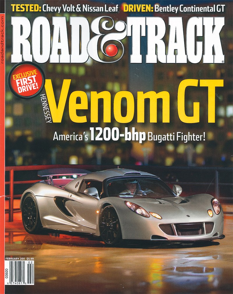 Absolute Power Road Amp Track Test Drives The Venom Gt