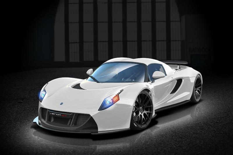 Hennessey Venom GT2 White