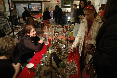 Jennifer Place at Holiday Crafts Fair