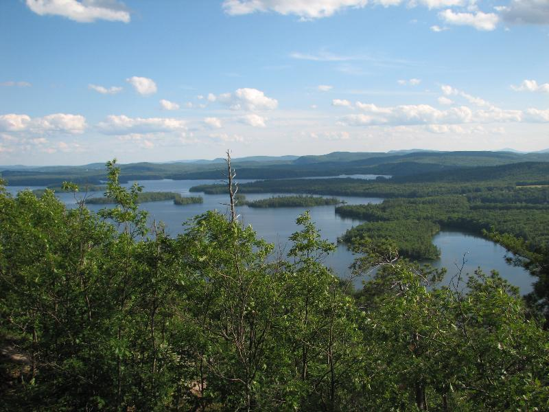 Squam Lake from Rattlesnake