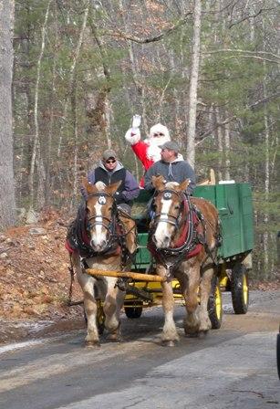 Santa carriage