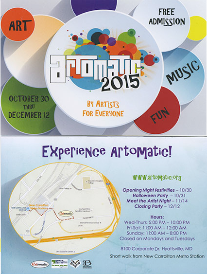 Artomatic  2015 Invitation