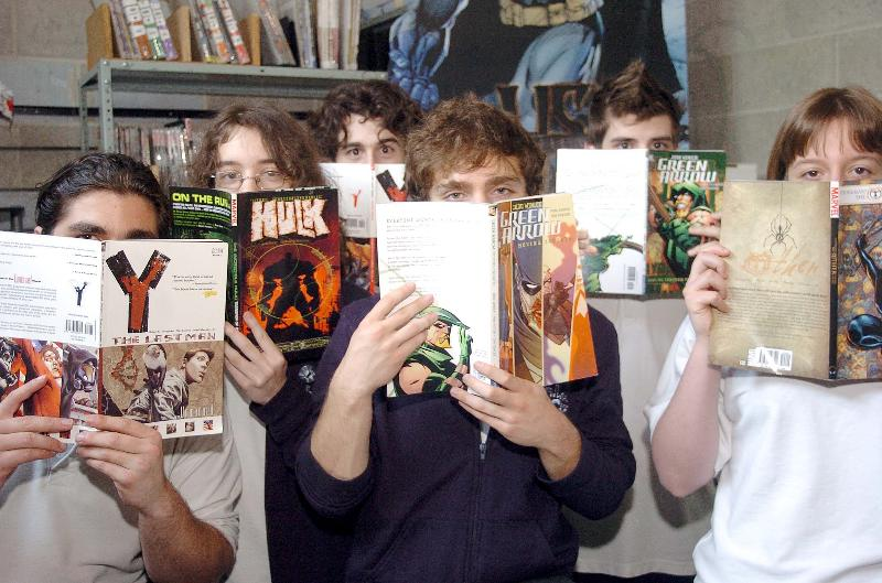 comic book club pic