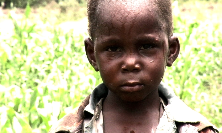Tanzanian child From The Mara Soil