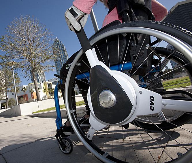 NuDrive Air - Autopropulsión instantánea para sillas de ruedas