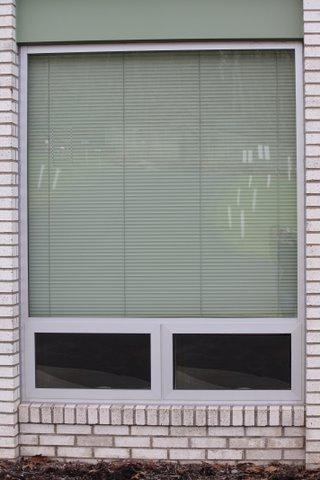 N. Hills Baptist church window