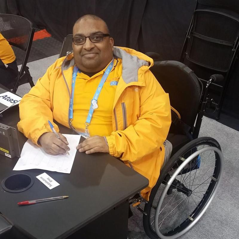 Volunteered @ ParaPanAm Games in Toronto