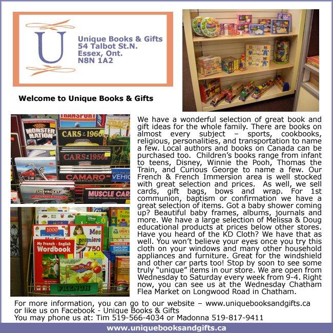 Unique Books & Gifts