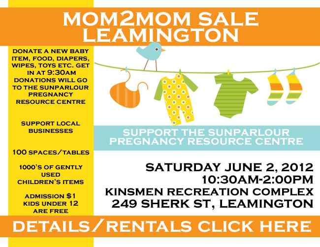 Mom2Mom Sale Leamington